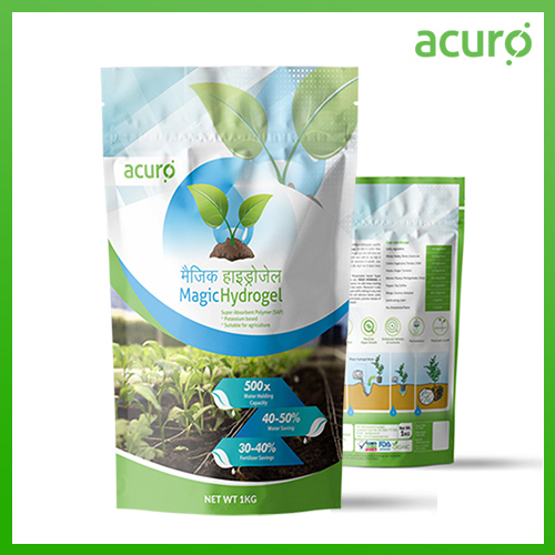 MAGIC HYDROGEL :- Nutrient And Water Retention Agent for Soil