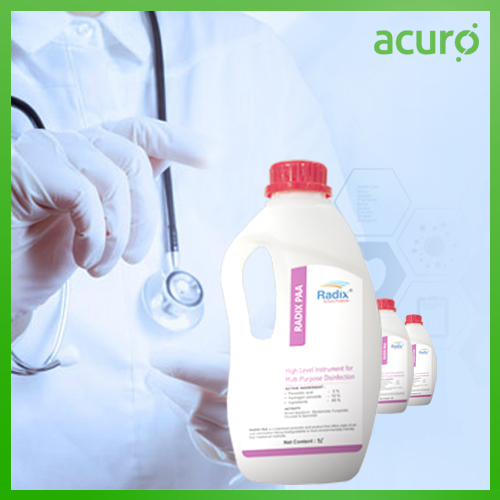 PERACETIC ACIDE BASED DISINFECTANT