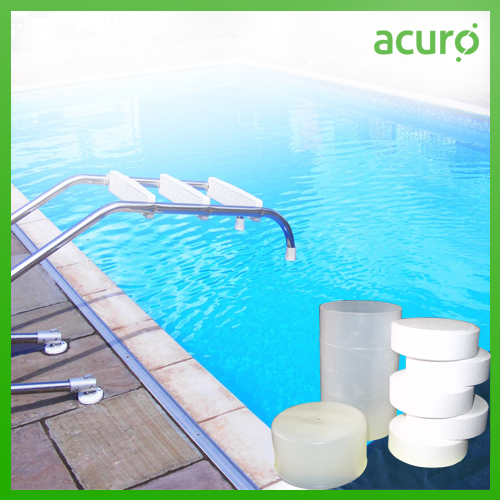 Tcca 90 Chlorine Tablets For Swimming Pool Fountain Lakes And Ponds